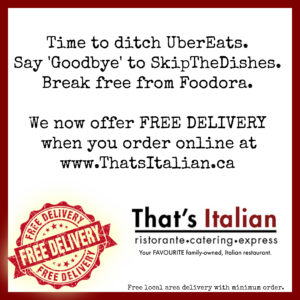 FREE local area delivery